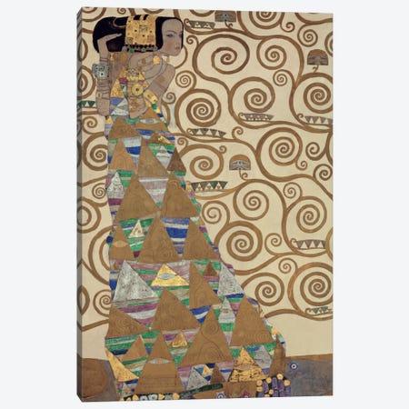 Expectation Canvas Print #GKL10} by Gustav Klimt Canvas Print