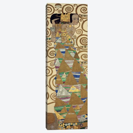 Expectation, Vertical Canvas Print #GKL11} by Gustav Klimt Canvas Art Print