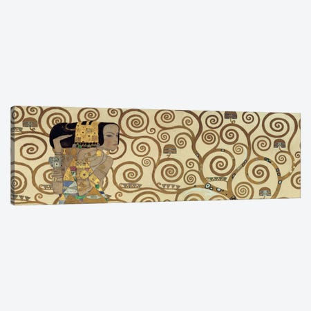 Expectation, Horizontal Canvas Print #GKL12} by Gustav Klimt Canvas Art Print