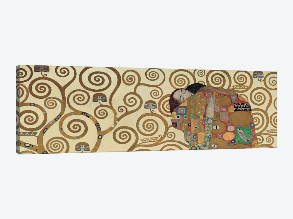 Fulfillment, Horizontal by Gustav Klimt 1-piece Canvas Art