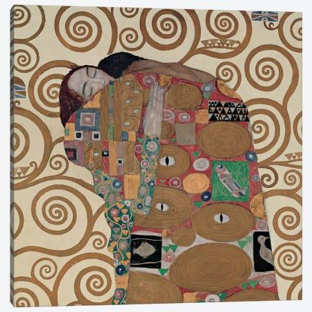 Fulfillment, Square Canvas Print #GKL18} by Gustav Klimt Art Print