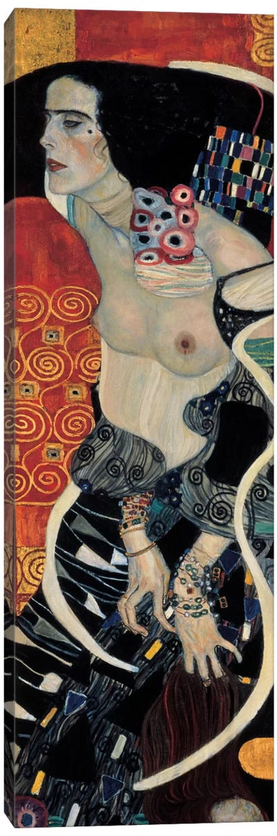 Judith II, 1909 by Gustav Klimt Canvas Art Print