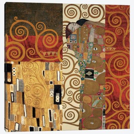 Klimt Details Canvas Print #GKL27} by Gustav Klimt Art Print