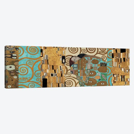 Klimt 150 Anniversary I Canvas Print #GKL29} by Gustav Klimt Canvas Wall Art