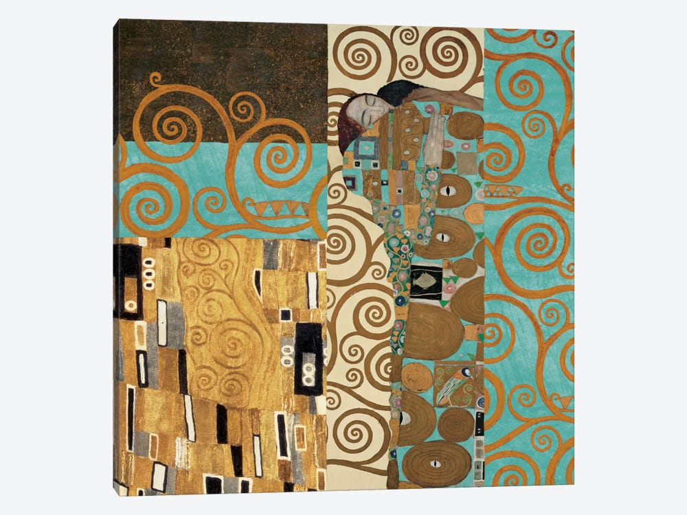 Klimt 150 Anniversary III by Gustav Klimt 1-piece Canvas Art