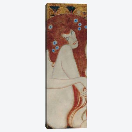 Beethoven Frieze, Rectangle Detail Canvas Print #GKL3} by Gustav Klimt Art Print