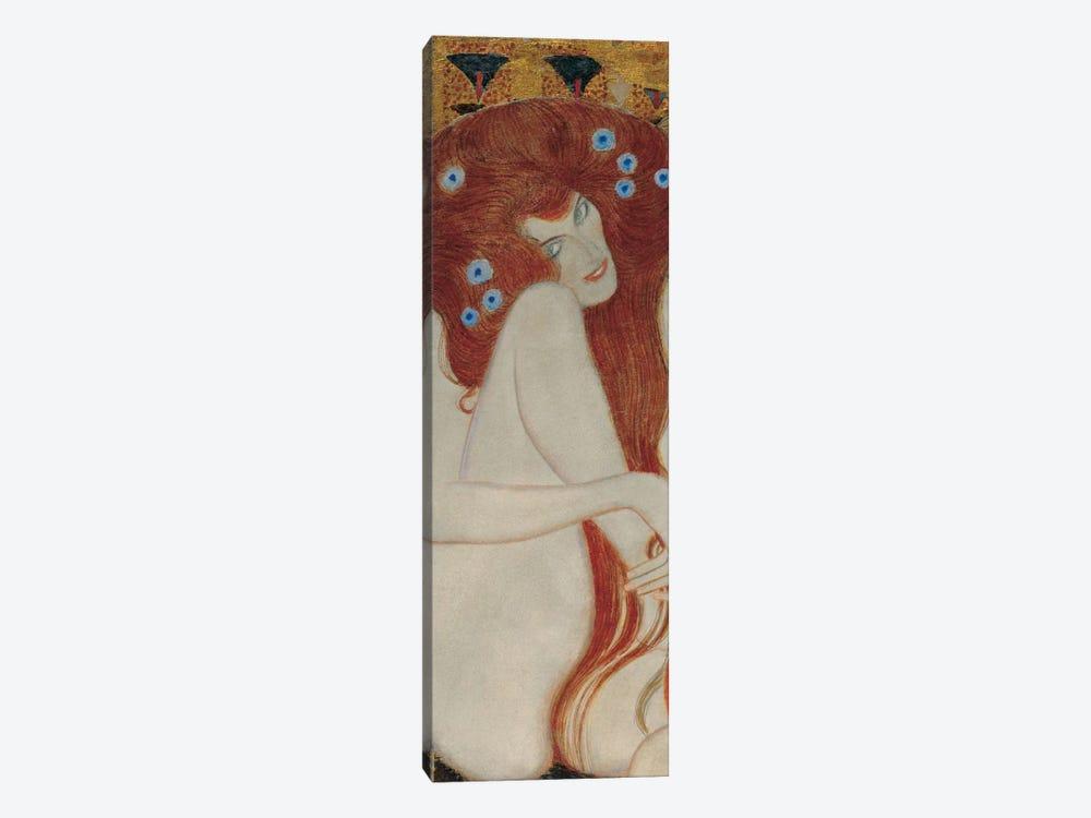 Beethoven Frieze, Rectangle Detail by Gustav Klimt 1-piece Canvas Art Print