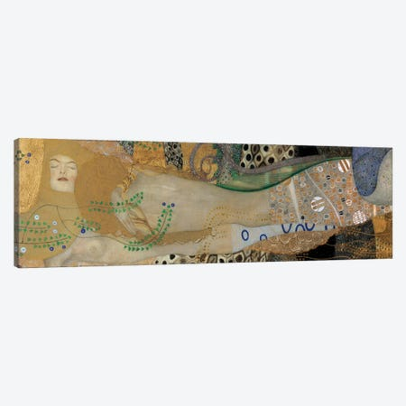 Sea Serpents, Detail II Canvas Print #GKL42} by Gustav Klimt Canvas Wall Art