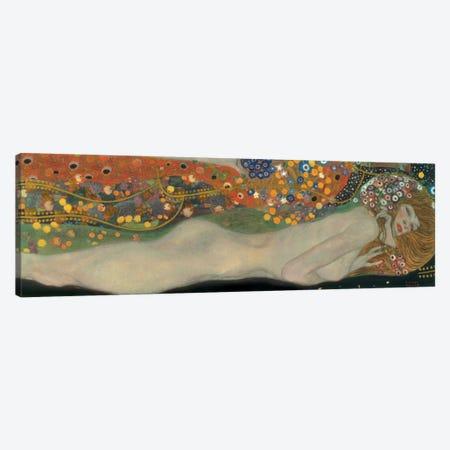 Sea Serpents, Detail IV Canvas Print #GKL44} by Gustav Klimt Canvas Print