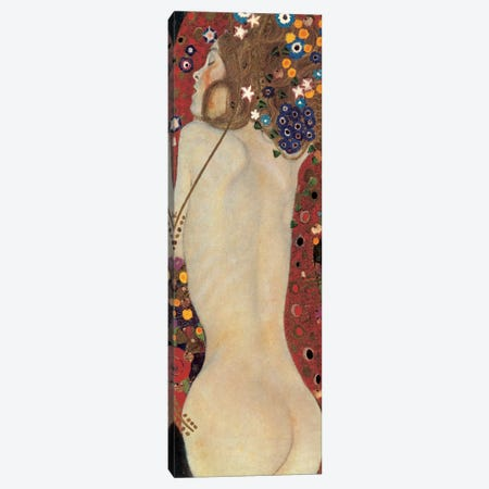 Sea Serpents, Detail V Canvas Print #GKL46} by Gustav Klimt Art Print