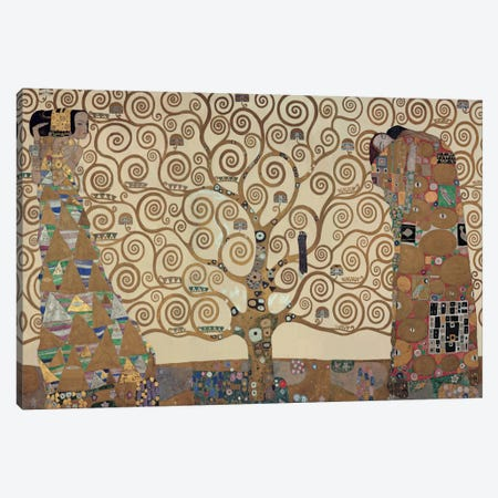 The Tree Of Life Canvas Print #GKL52} by Gustav Klimt Canvas Art Print