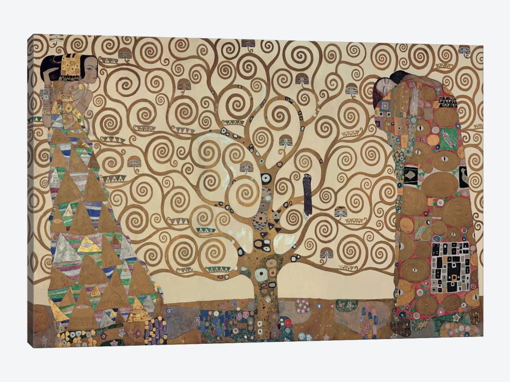 The Tree Of Life by Gustav Klimt 1-piece Canvas Art Print