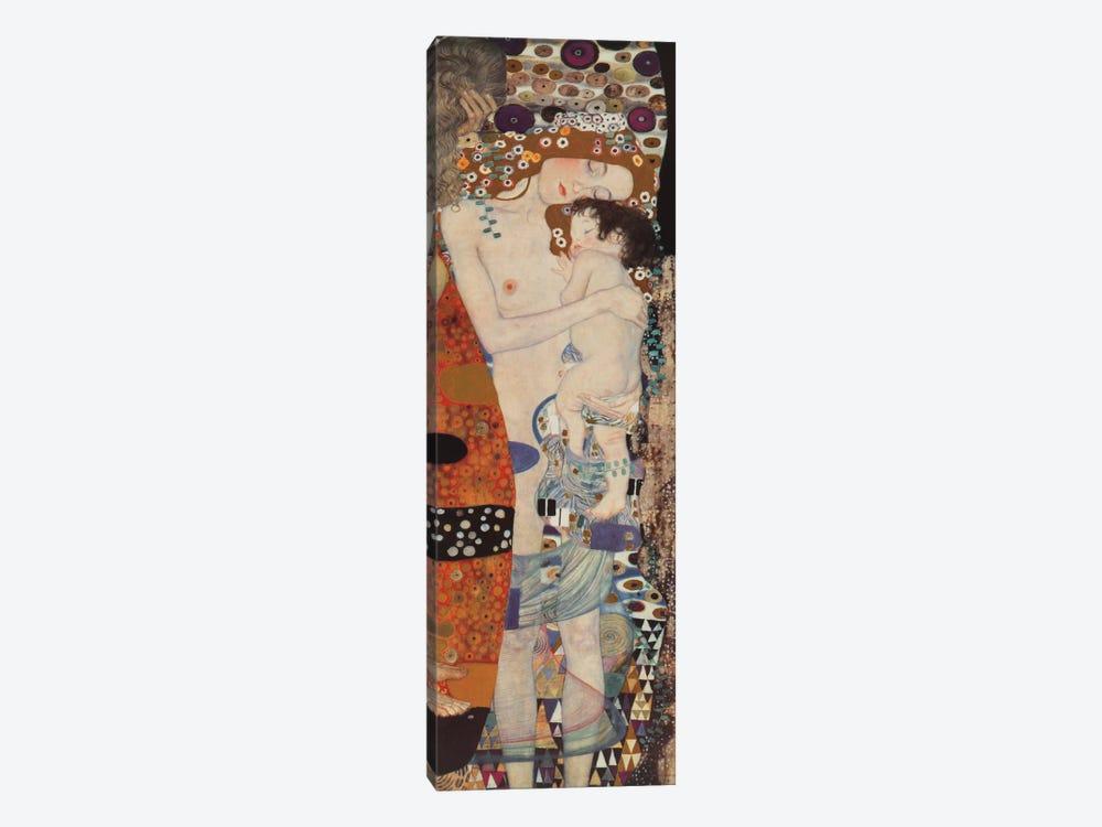 Three Ages Of Woman, Vertical by Gustav Klimt 1-piece Art Print