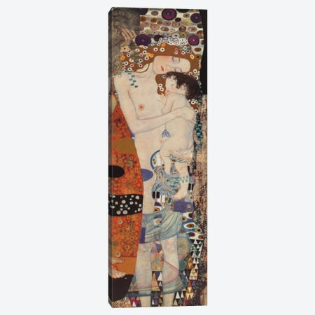 Three Ages Of Woman, Vertical Canvas Print #GKL54} by Gustav Klimt Canvas Wall Art