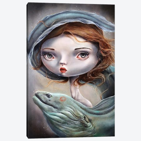 Lure Canvas Print #GKY13} by Gokcen Yuksek Canvas Wall Art