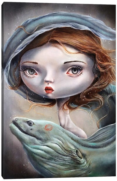 Lure Canvas Art Print