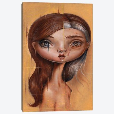 Glitch Canvas Print #GKY26} by Gokcen Yuksek Canvas Art