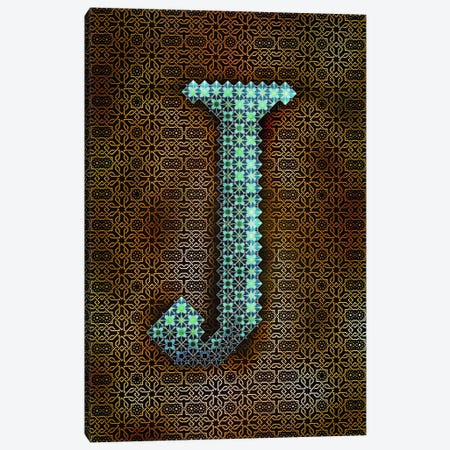 J Canvas Print #GLA11} by 5by5collective Art Print