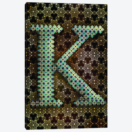 K Canvas Print #GLA12} by 5by5collective Canvas Print