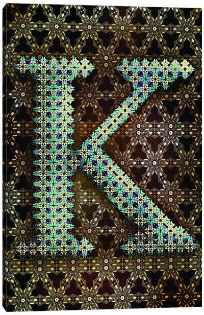 K Canvas Art Print