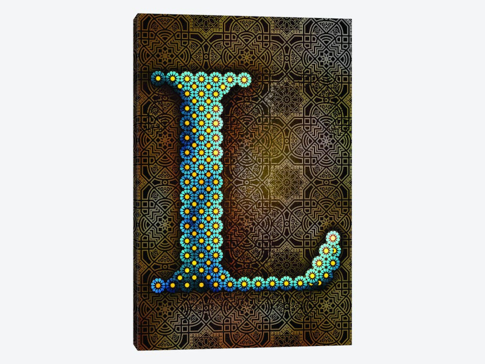 L by 5by5collective 1-piece Canvas Art Print