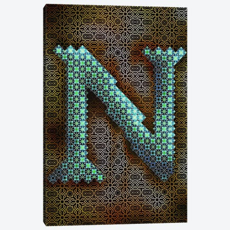 N Canvas Print #GLA15} by 5by5collective Canvas Wall Art