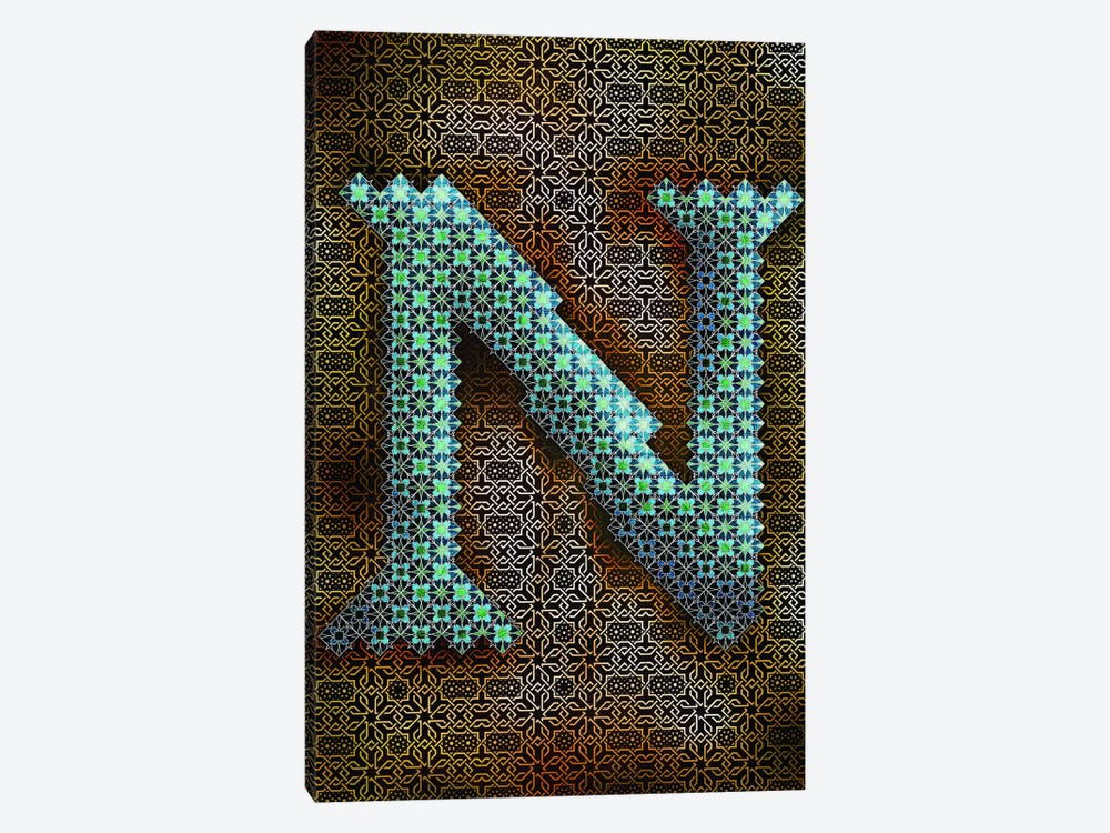 N 1-piece Canvas Art Print