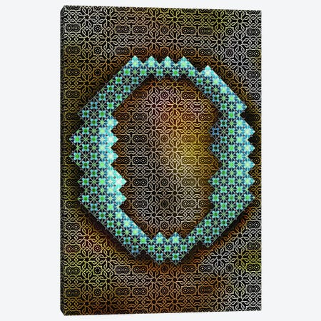 O Canvas Print #GLA16} by 5by5collective Canvas Art