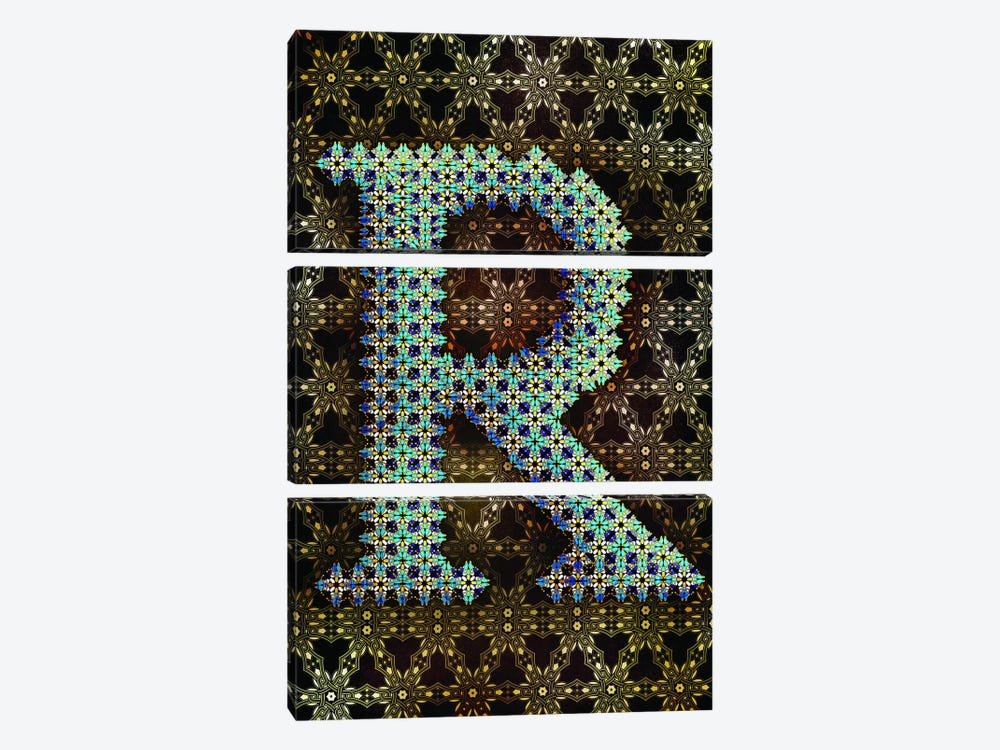 R by 5by5collective 3-piece Canvas Art Print