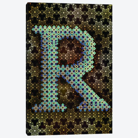 R Canvas Print #GLA19} by 5by5collective Canvas Art Print