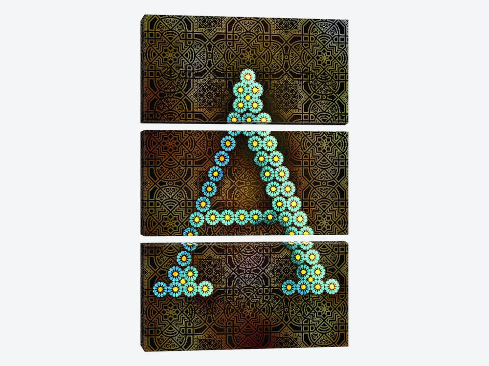A by 5by5collective 3-piece Canvas Print