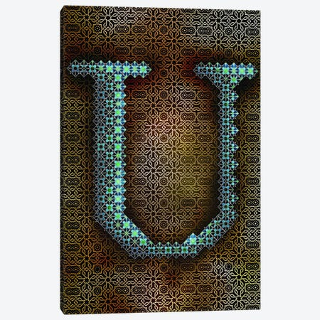 U Canvas Print #GLA22} by 5by5collective Canvas Wall Art