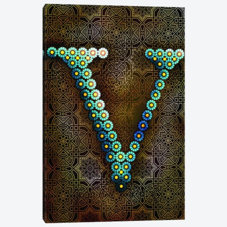 V Canvas Print #GLA23} by 5by5collective Canvas Wall Art