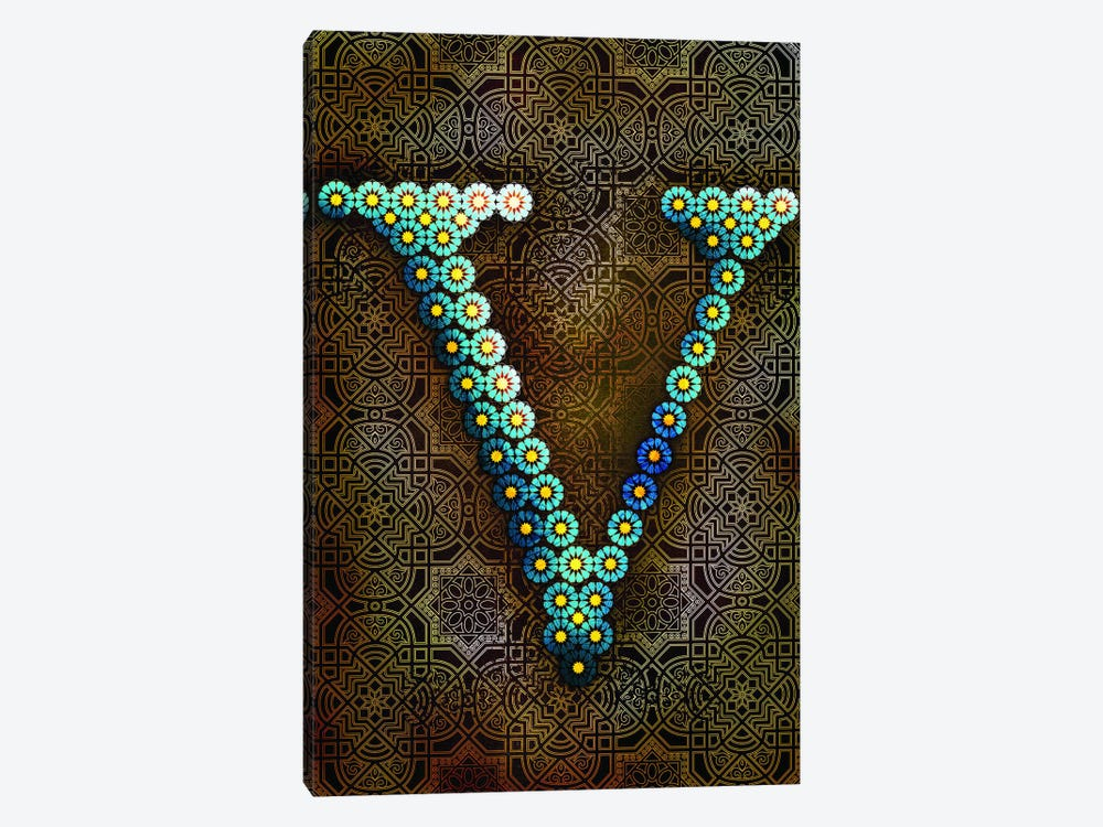 V by 5by5collective 1-piece Canvas Art