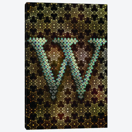 W Canvas Print #GLA24} by 5by5collective Canvas Art Print