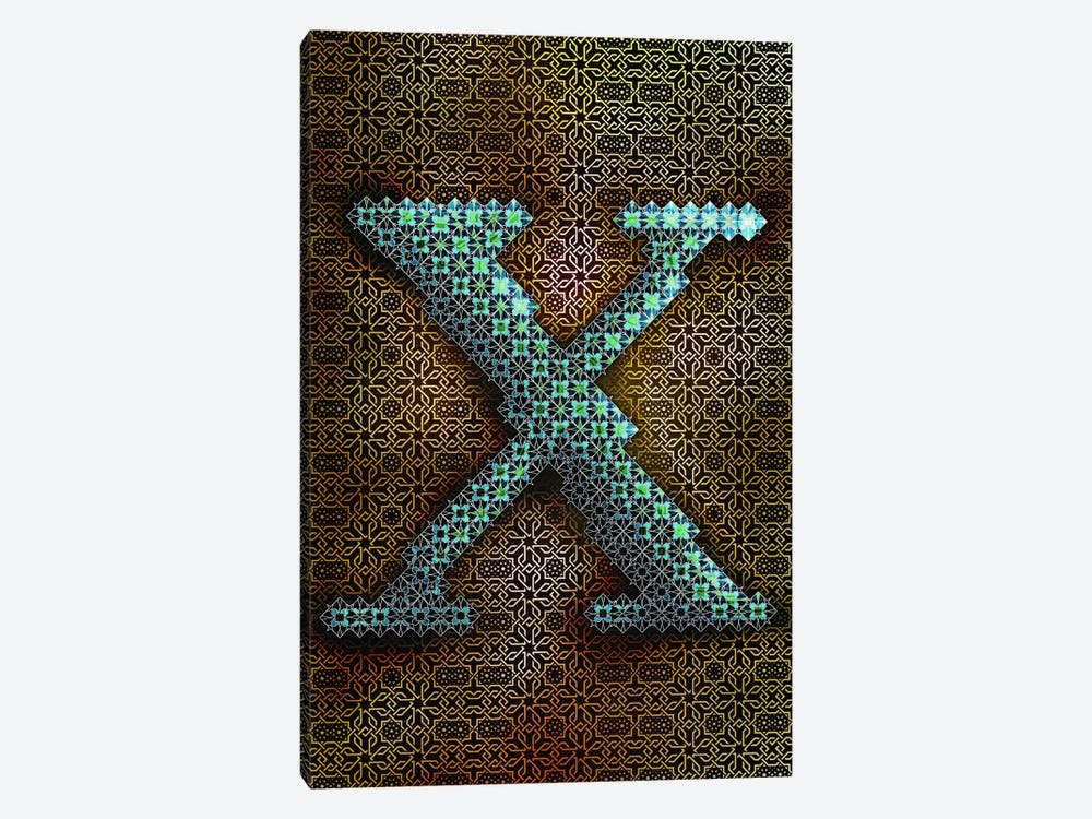 X by 5by5collective 1-piece Canvas Art