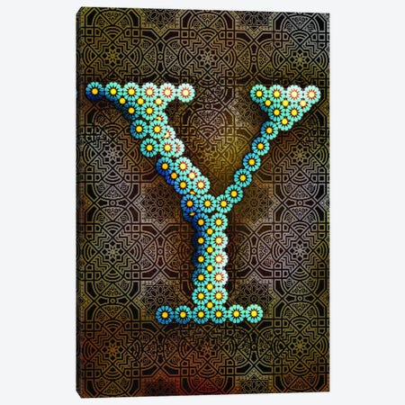 Y Canvas Print #GLA26} by 5by5collective Canvas Print