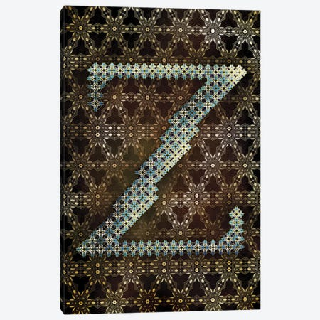 Z Canvas Print #GLA27} by 5by5collective Canvas Print