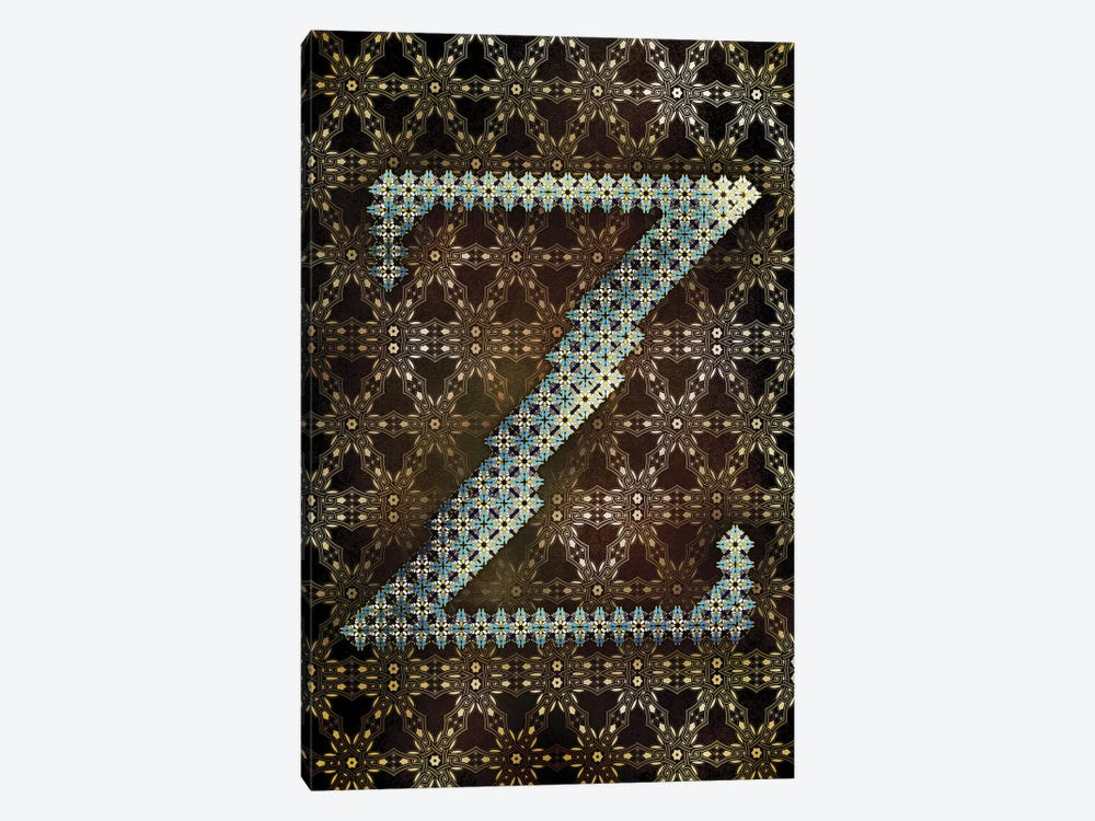 Z by 5by5collective 1-piece Canvas Artwork