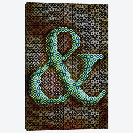 Ampersand Canvas Print #GLA2} by 5by5collective Art Print