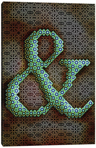 Ampersand Canvas Art Print