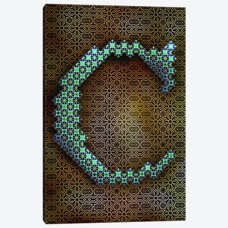 C Canvas Print #GLA4} by 5by5collective Canvas Art