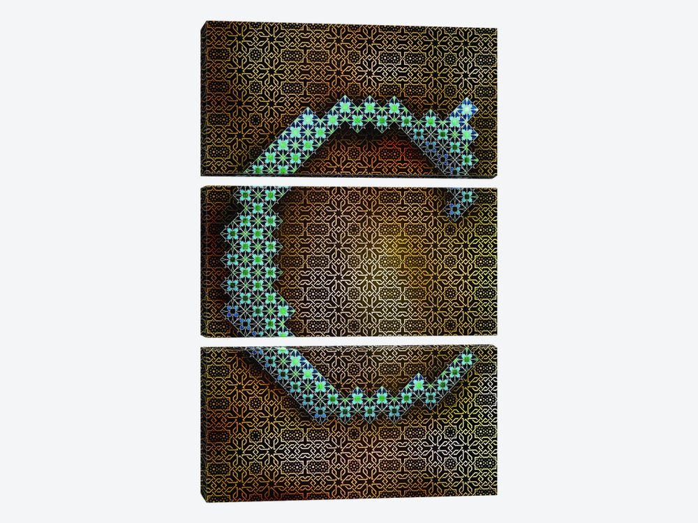 C by 5by5collective 3-piece Canvas Artwork