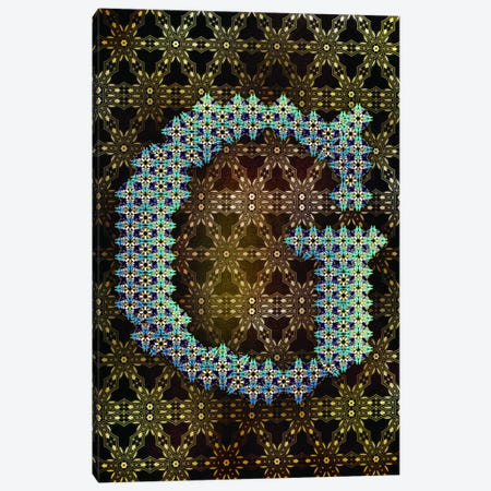 G Canvas Print #GLA8} by 5by5collective Art Print
