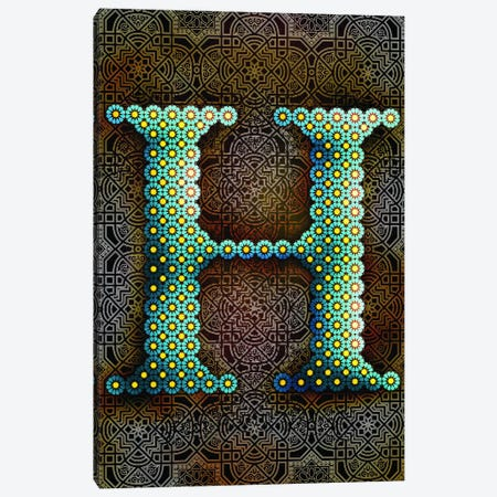 H Canvas Print #GLA9} by 5by5collective Canvas Print