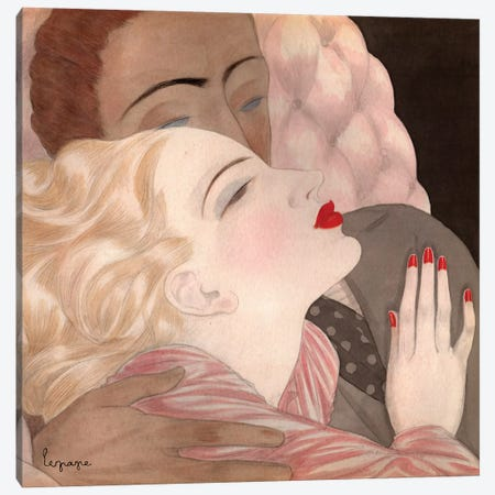 Love Canvas Print #GLE3} by Georges Lepape Art Print