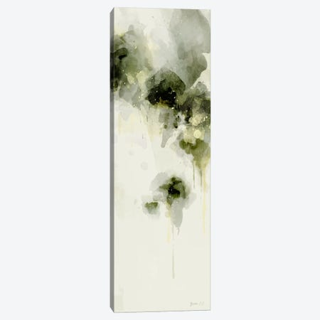 Misty Abstract Morning I Canvas Print #GLI13} by Green Lili Canvas Print