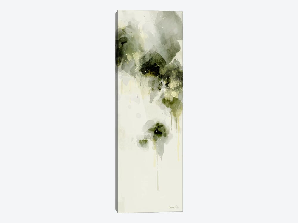 Misty Abstract Morning I by Green Lili 1-piece Canvas Wall Art