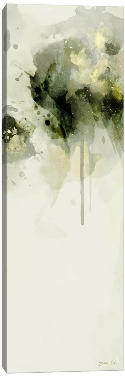 Misty Abstract Morning II Canvas Art Print