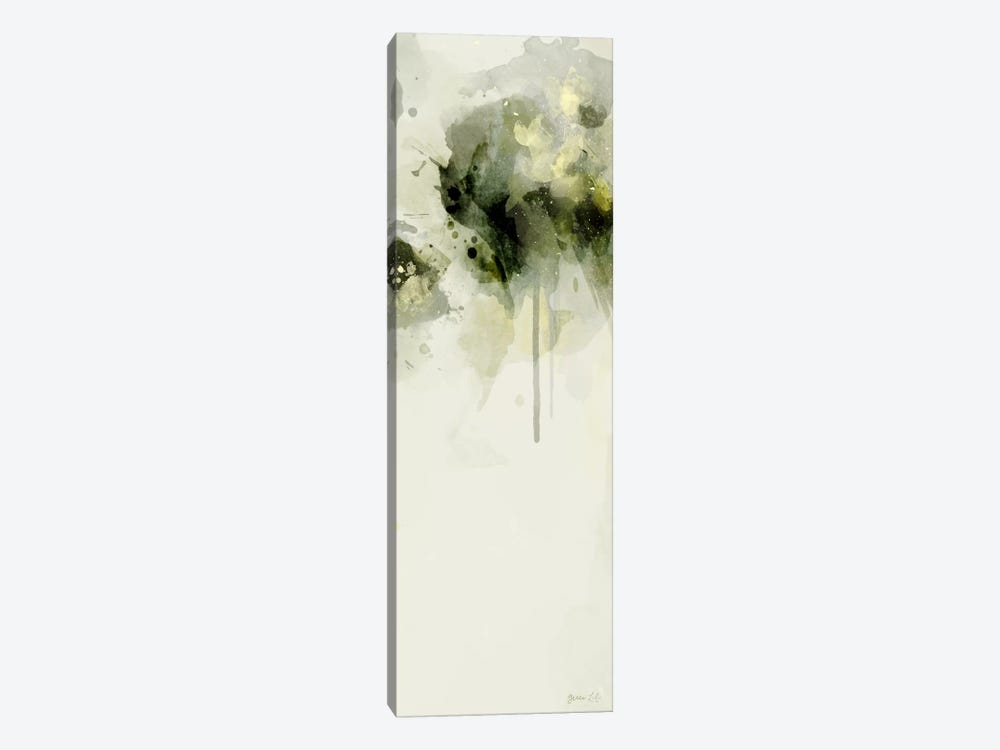Misty Abstract Morning II by Green Lili 1-piece Canvas Art Print